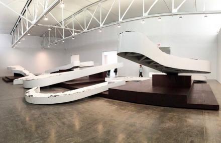 Michael Heizer, Altars, via Art Observed