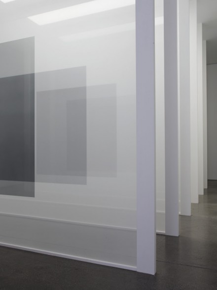 Robert Irwin, Black (2008), via White Cube