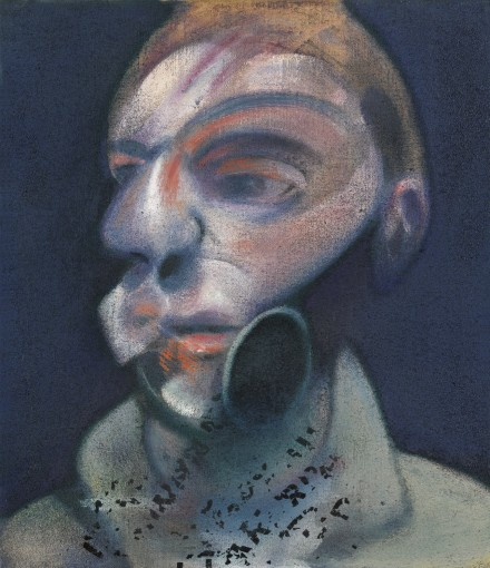 Francis Bacon, Self-Portrait (1975), via Sotheby's