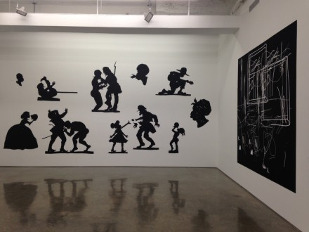 Hello Walls (Installation View)