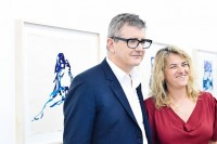 Jay Jopling and Tracy Emin, via Art Newspaper