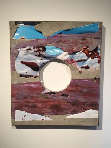 Letha Wilson Goblin Valley December Hole (Steel), 2015