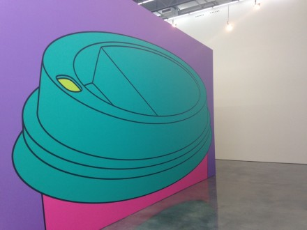 Michael Craig-Martin, To Go (2015)