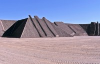 Michael Heizer's City, via Artforum