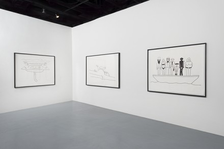 Olaf Breuning (Installation View), via Michael Benevento