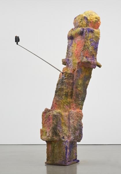 Rachel Harrison, Magnum (2015), via Regen Projects