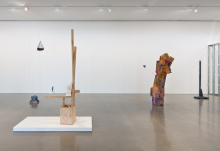 Rachel Harrison, Three Young Framers (Installation View), via Regen Projects