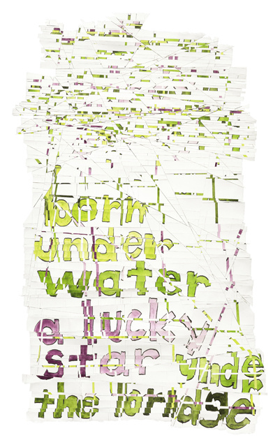Roni Horn, Hack Wit - water star (2014), via Hauser and Wirth