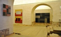 Sean Scully's work in monastery
