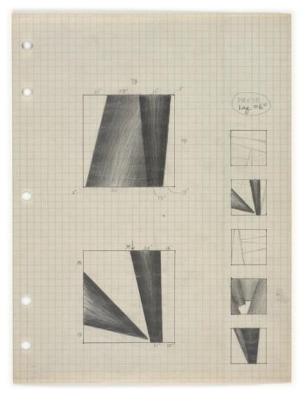 Lee Lozano, No title (1964—1965), via Hauser & Wirth