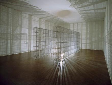 """Mona Hatoum, """"Light Sentence,"""" 1992, c/o :e Centre Pompidou"""
