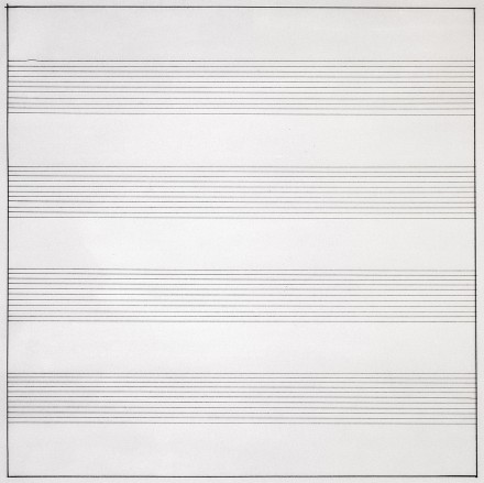 Agnes Martin, Untitled #10 (1990)