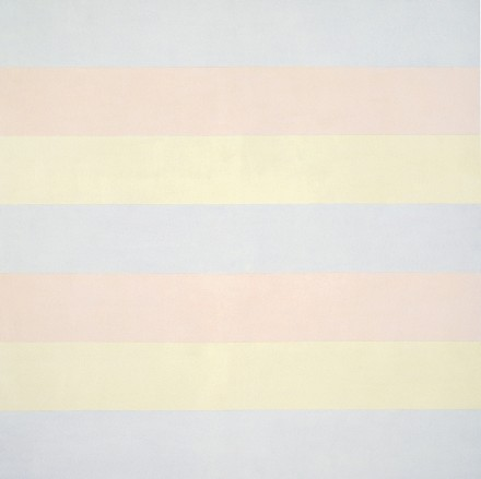 Agnes Martin, Untitled 5 (1998)