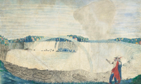 An East View of the Great Cataract of Niagara, by Captain Thomas Davies, via The Guardian