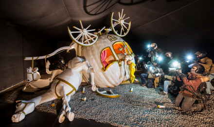Banksy, Dismaland (Installation View), via The Guardian