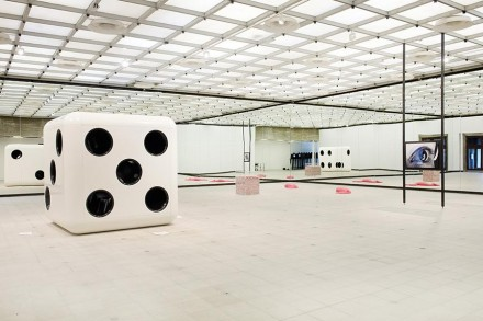 Carsten Höller, Decision (Installation View), via Hayward