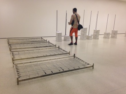 Doris Salcedo at the Guggenheim (Installation View)