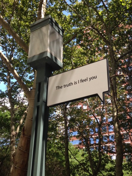 Hank Willis Thomas, The Truth Is I See You (Installation View) at MetroTech Promenade