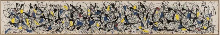 Jackson Pollock, Summertime: Number 9A (1948 ), courtesy Tate Liverpool