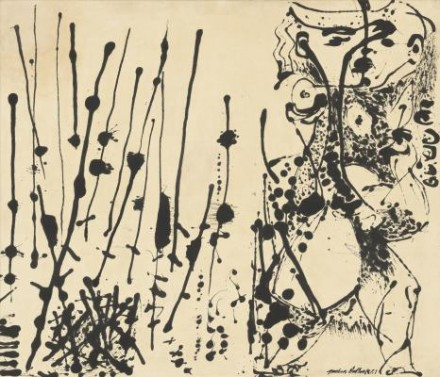 Jackson Pollock, Number 7 (1951), courtesy Tate Liverpool