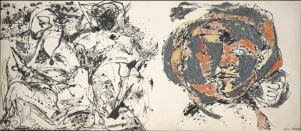 "Jackson Pollock, ""Portrait and a Dream,"" 1953, c/o Tate Liverpool"