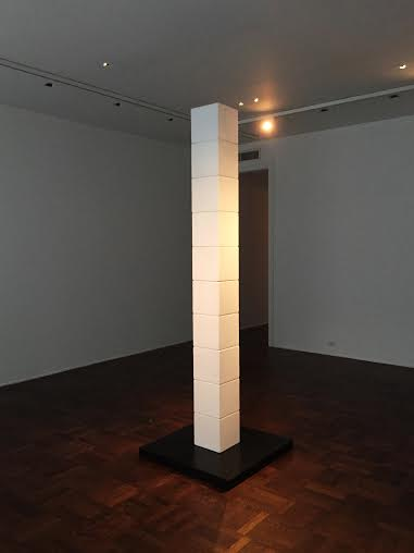 James Lee Byars, The Figure of Death (1987), via Art Observed