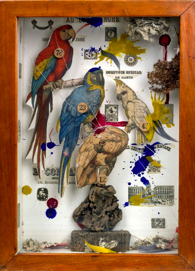 Joseph Cornell, Habitat Group for a Shooting Gallery (1943), Courtesy Royal Academy