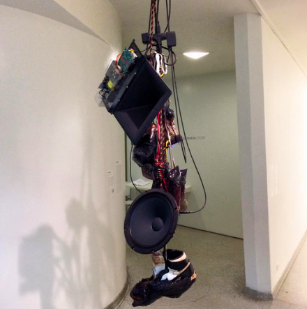 Kevin Beasley, Strange Fruit (Pair II) (2015), via Art Observed