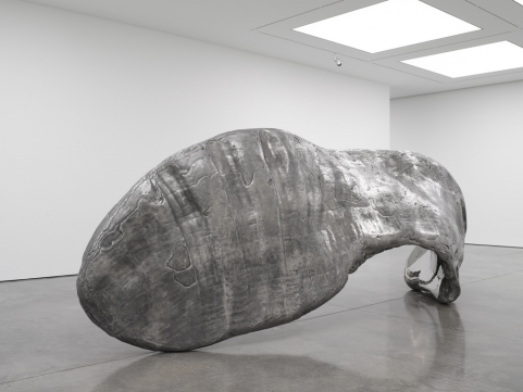 Marc Quinn, Frozen Wave (The Conservation of Mass) (2015), via White Cube
