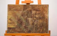 Pablo Picasso, La Coiffeuse (1911), via The Guardian