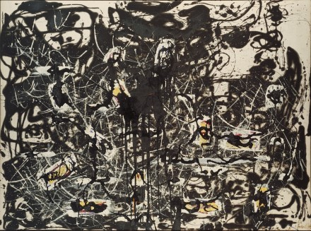 Jackson Pollock, Yellow Islands, (1952), courtesy Dallas Museum of Art