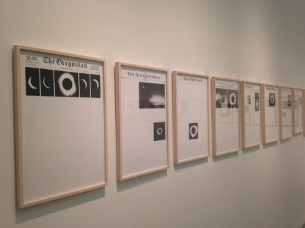 Sarah Charlesworth, from Modern History series (Installation View)