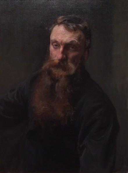 John Singer Sargent, Auguste Rodin (1884)