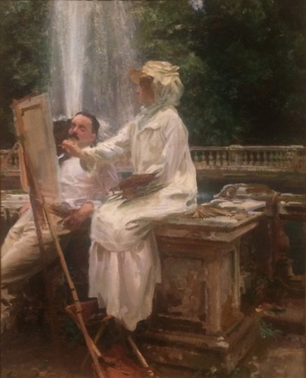 John Singer Sargent, The Fountain (1907)