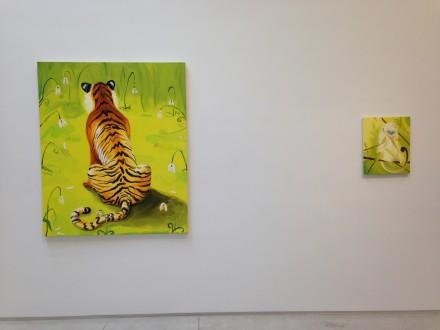 Tiger Tiger at Salon 94 (Installation View)