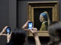 Vermeer's Girl with a Pearl Earring, via NPR