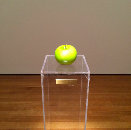Yoko Ono, Apple (1966), via Art Observed