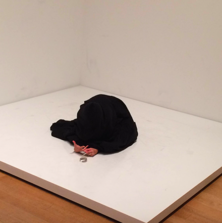 Yoko Ono, Bag Piece (1964), via Art Observed