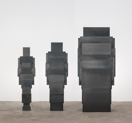 Antony Gormley, EXPANDED FAMILY X3: REACH (2014)