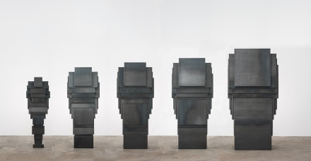 Antony Gormley, EXPANDED FAMILY X5: PROP (2014)
