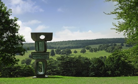 Barbara Hepworth, The Family of Man Figure 1, Ancestor 1 (1970), via Sotheby's