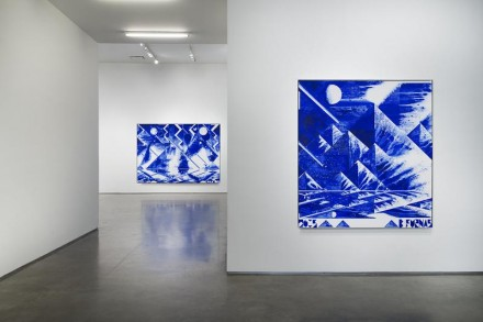 Barnaby Furnas, The First Morning (Installation View), via Marianne Boesky
