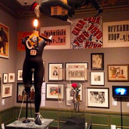 Berlin Metropolis: 1918 - 1933 (Installation View), via Art Observed