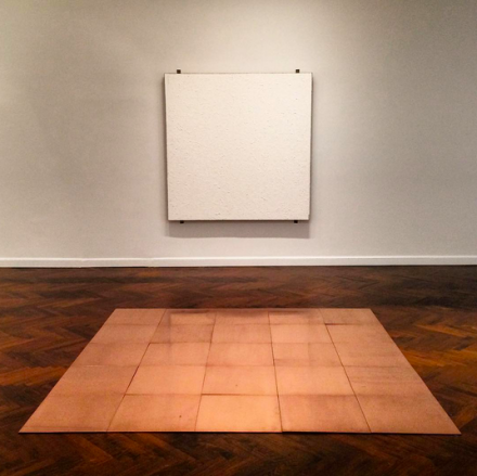 Carl Andre in His Time (Installation View), via Art Observed