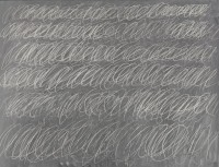 "Cy Twombly's ""Untitled, 1968 (New York City), via NYT"