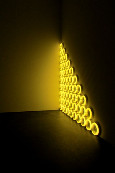 Dan Flavin, untitled (to a man, George McGovern) 2, (1972)