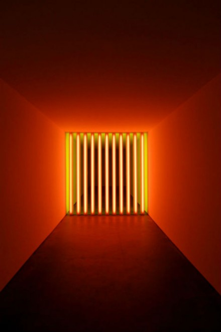 Dan Flavin, untitled (to Barry, Mike, Chuck and Leonard) (1972)