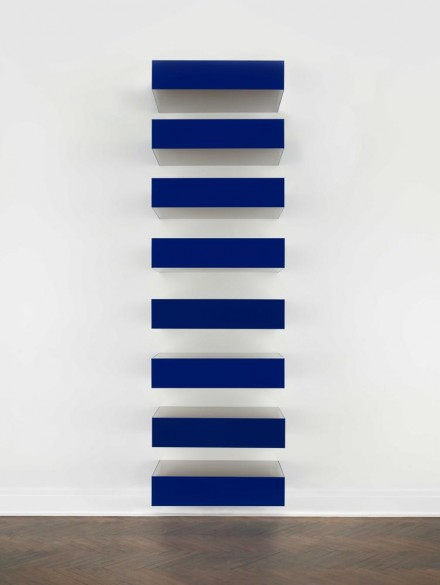 Donald Judd, Untitled (Bernstein 78-70) (1978), via Mnuchin