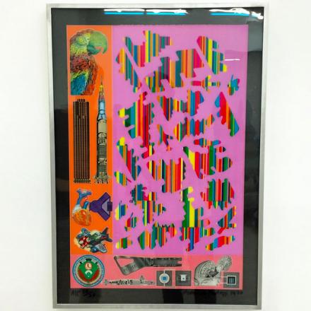 Eduardo Paolozzi, Human Fate and World Power (1969-70), via Art Observed