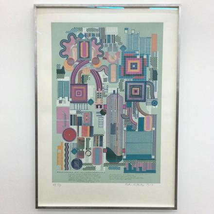 Eduardo Paolozzi, Nettleton (1974-7), via Art Observed